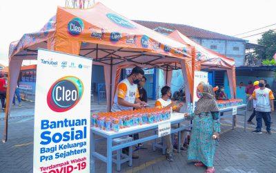 Cleo Bersama untuk Kebaikan – Dukungan bagi Keluarga Terdampak COVID
