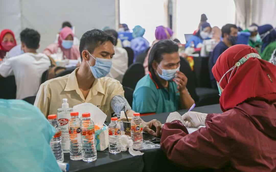 Tanobel Dukung Pemerintah Sukseskan Program Vaksinasi Covid-19